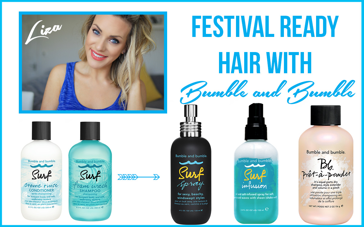 Festival Ready Hair with Bumble & Bumble